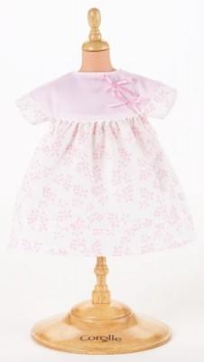Roupa Bebé Brincar Vestido florido Rosa