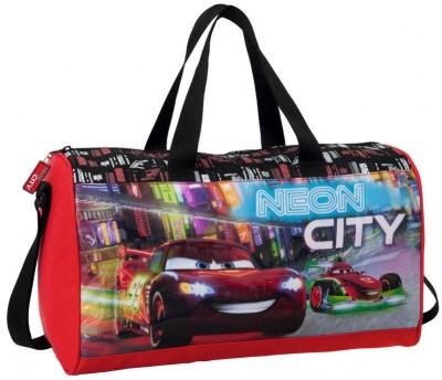 Saco desporto Disney Cars Neon City black