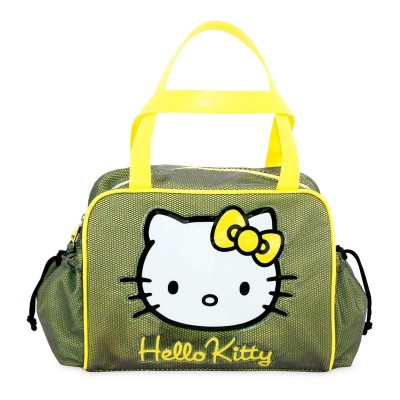 Saco Desporto Verde Hello Kitty