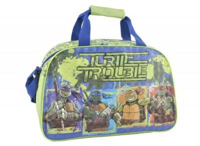 Saco desporto viagem Tartarugas Ninja Trouble