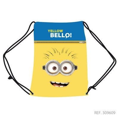 Saco Desporto Yellow Bello Minions