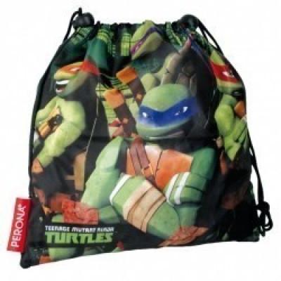 Saco Lanche Desporto Tartarugas Ninjas Power