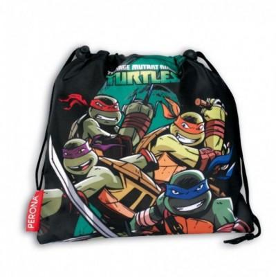 Saco Lanche Tartarugas Ninja Defense