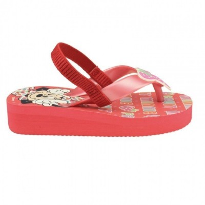 Sandália Minnie Flip Flop Fashion