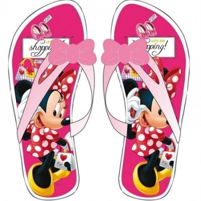 Sandálias Disney Minnie Lets Go Shopping!