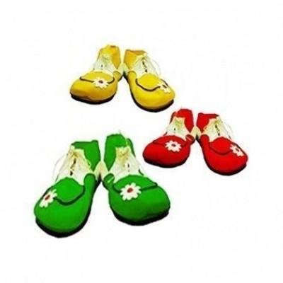 Sapatos de Palhaço Flor