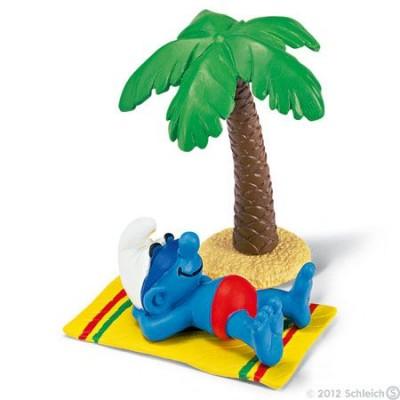 Smurf Férias (Holiday) - Colecção Super Smurfs