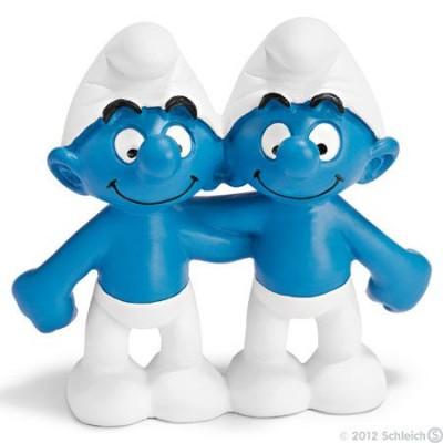 Smurf Gémeos (Gemini) - Colecção Signos