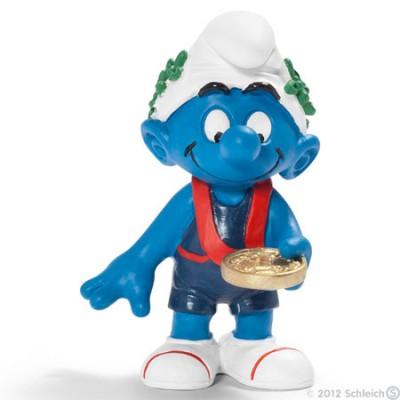 Smurf Vencedor (Winner) - Colecção Desporto