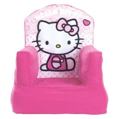 Sofá insuflável c/ capa Hello Kitty