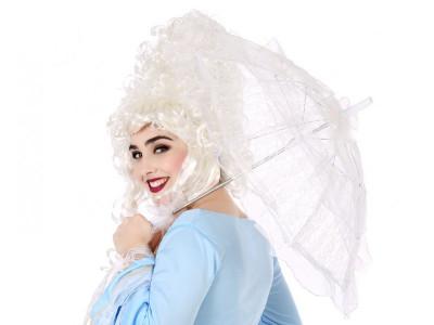 Sombrinha Branca Carnaval