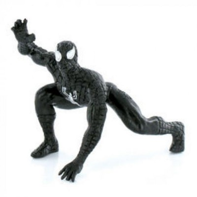 Spiderman Black Figura Super Heróis