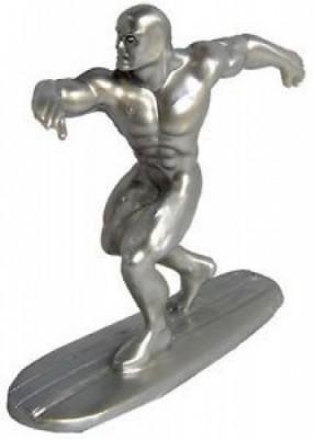 Surfista Prateado Figura Super Heróis