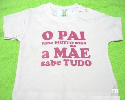 T-shirt dia da mãe