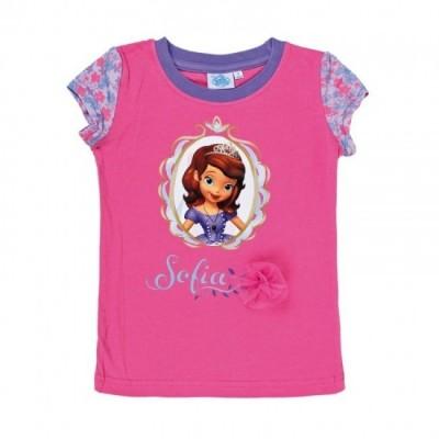 T-shirt Disney Princesa Sofia Rosa