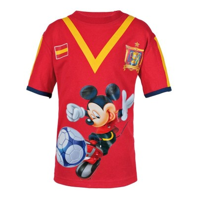 T-Shirt Mickey Football Spain