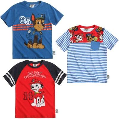 T-Shirt Sortidas Camisolas Patrulha Pata