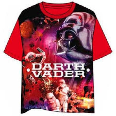 T-Shirt Vermelha Star Wars