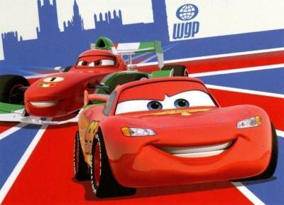 Tapete Disney Cars McQueen 95x133cm