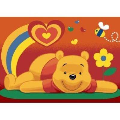 tapete winnie the pooh cora o loja da crian a. Black Bedroom Furniture Sets. Home Design Ideas