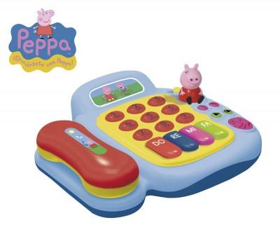 Telefone + Piano Electrónico Peppa