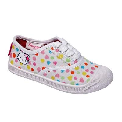 Tenis Lona Hello Kitty