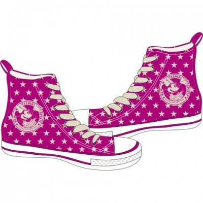 Tenis Lona Minnie Rose