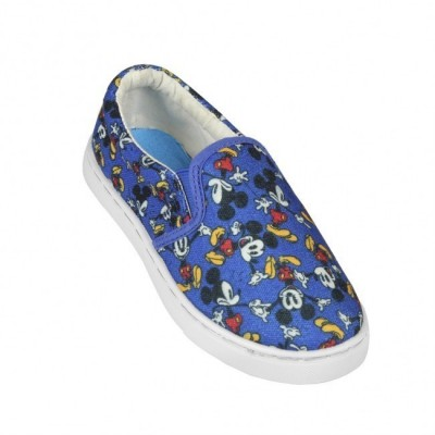 Tenis Sapatilhas Azuis Mickey