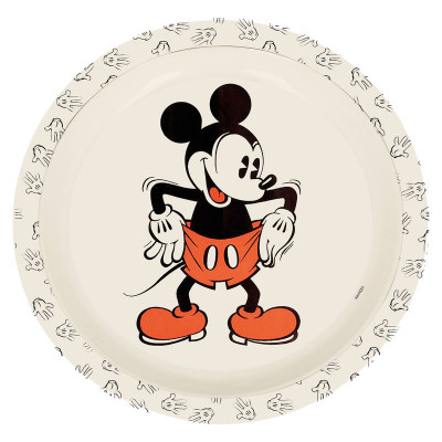 Tigela Mickey 90 Anos Bambu