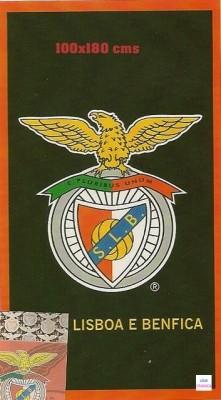 Toalha Benfica Microfibra SLB 100x180 cms