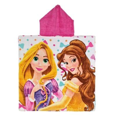 Toalha com Capuz Princesas