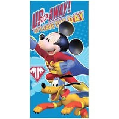 Toalha de Praia Mickey Super-Herói