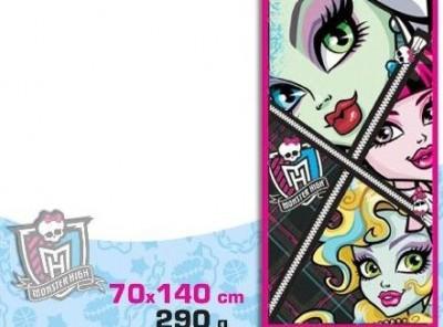 Toalha de Praia Monster High Modelo 1