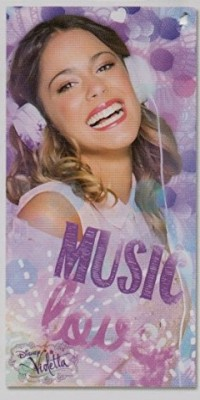 Toalha de Praia Violetta Disney Music