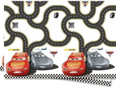 Toalha Festa Disney Cars 3