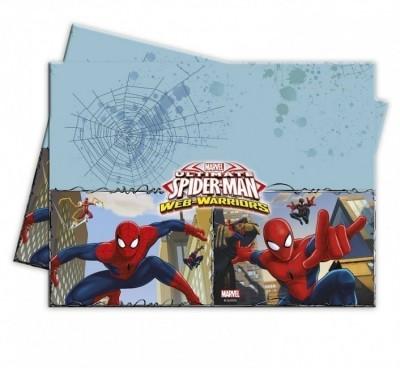 Toalha Festa Spiderman Web Warriors