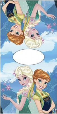 Toalha Poncho Frozen Disney Irmãs