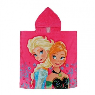 Toalha poncho Frozen Sisters
