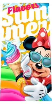 Toalha praia Disney Minnie Sun