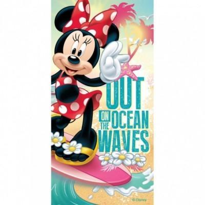 Toalha praia Disney Minnie Waves