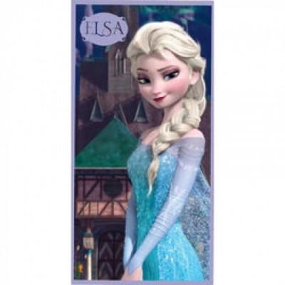 Toalha praia Frozen Queen Elsa