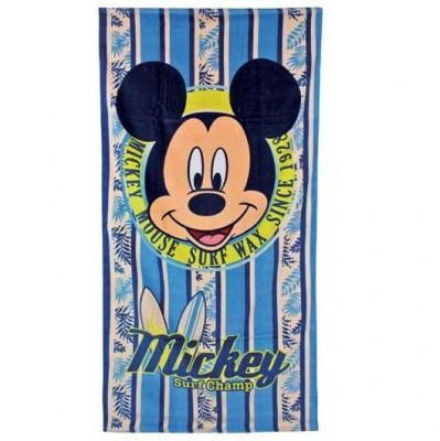 Toalha praia Mickey Surf Champ