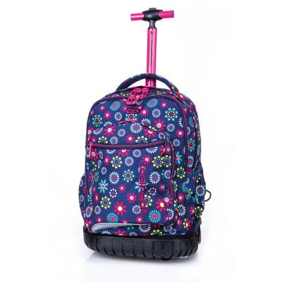 Trolley Mochila Escolar 46cm CoolPack Hippie Daisy