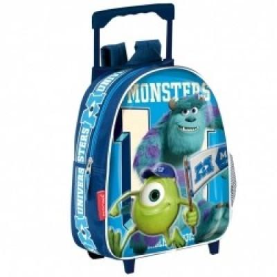 Trolley mochila pré-escolar Monstros Universidade