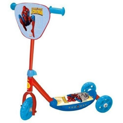 Trotinete infantil Spiderman 3 rodas