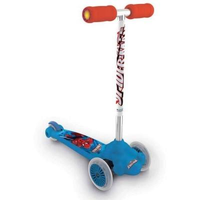 Trotinete Spiderman Twist & Roll 3 rodas