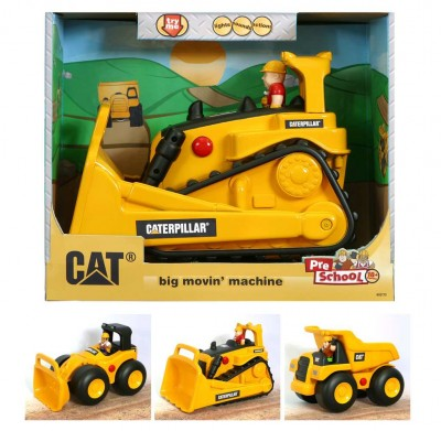 Veículo Construção Multifunções 30 Cm CAT