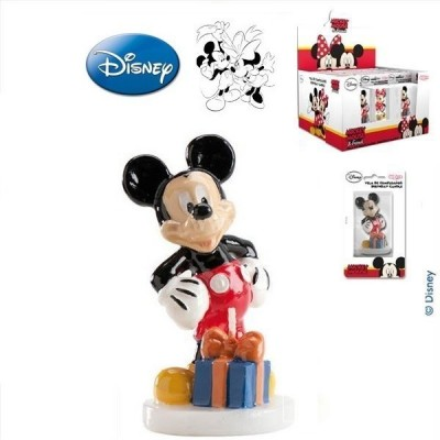 Vela aniversário Mickey 3D