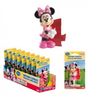Vela aniversário Minnie 3D Nº4