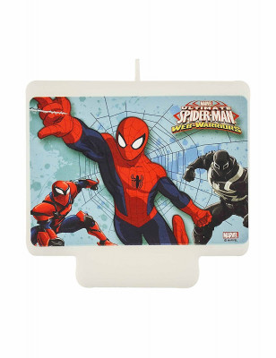 Vela aniversário Spiderman